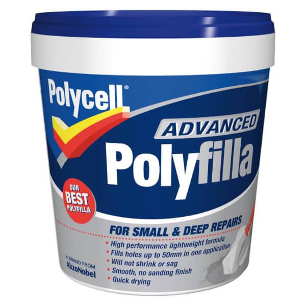 Polycell Advanced Polyfilla - 600ml