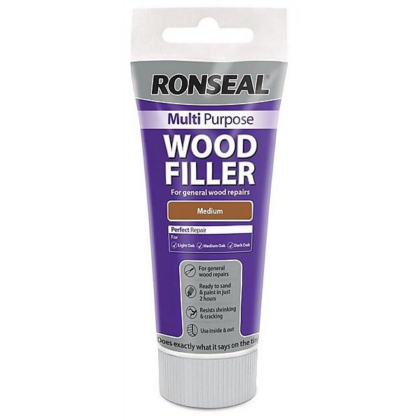 Ronseal Multipurpose Wood Filler Tube - Medium - 100g