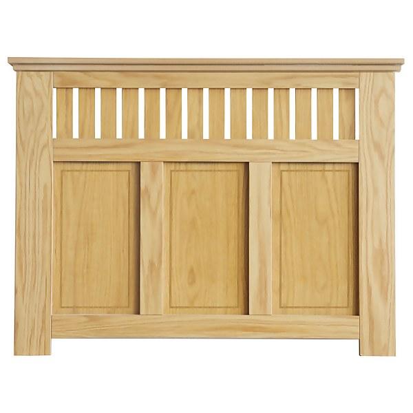 Wilton Radiator Cabinet Oak FSC - Medium