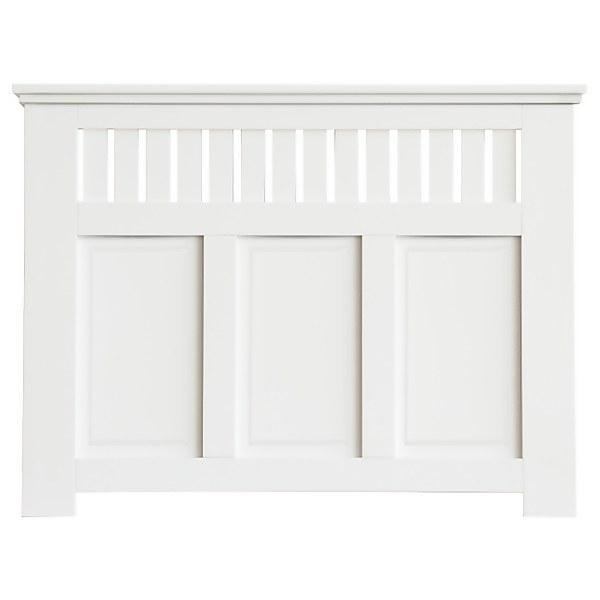 Wilton Radiator Cabinet White FSC - Medium
