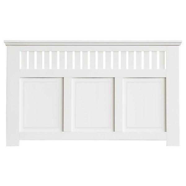Wilton Radiator Cabinet White FSC - Large