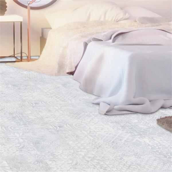 Relief White Laminate Flooring