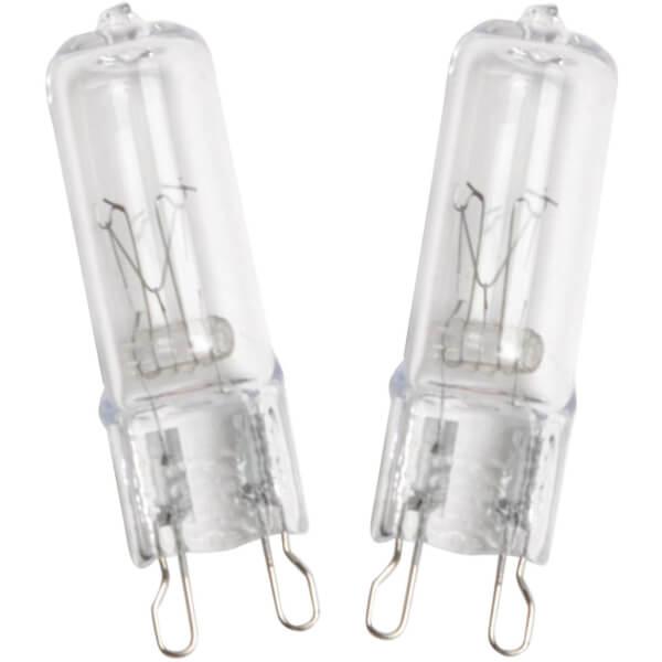 Halogen G9 Capsule 18W Light Bulb - 4 pack