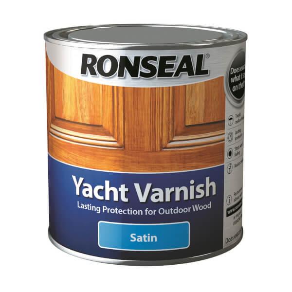 Ronseal Yacht Varnish Satin 2.5L
