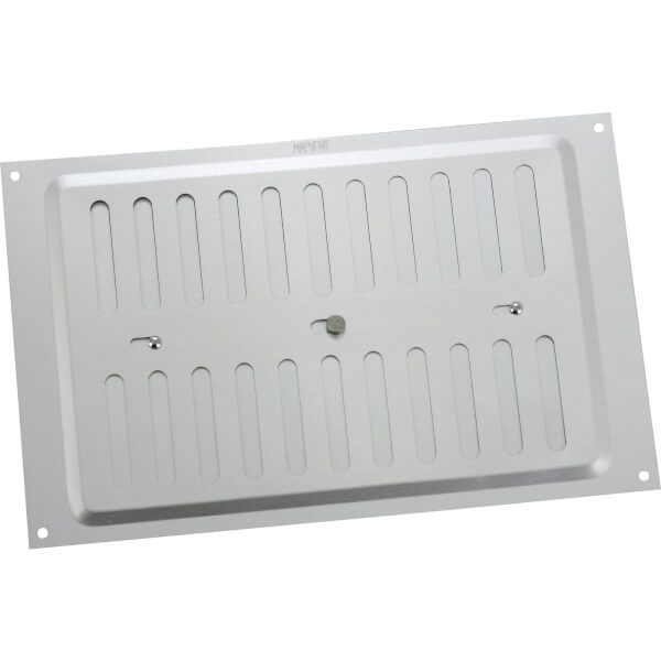 Adjustable Vent - 229 x 152mm - Silver Aluminium