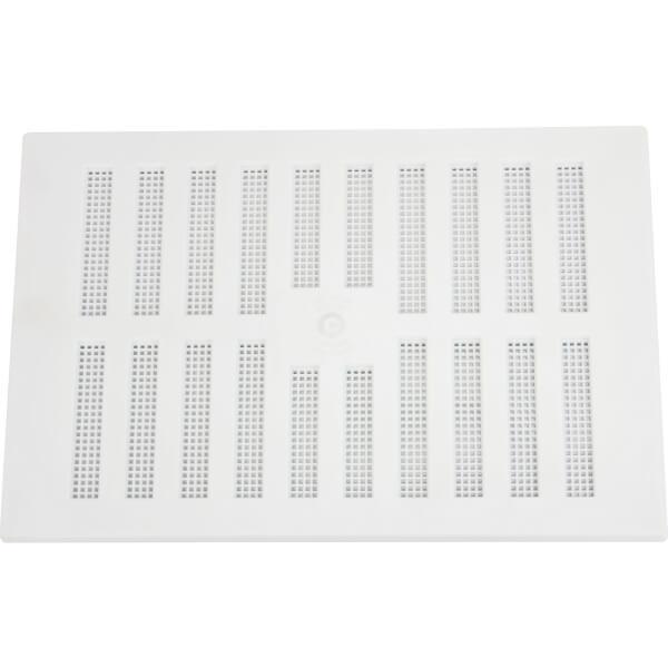 Adjustable Vent - 229 x 152mm - White Plastic