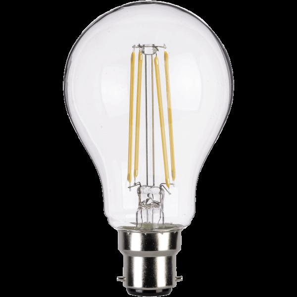 LED Filament A-lamp 4W B22 Clear Light Bulb