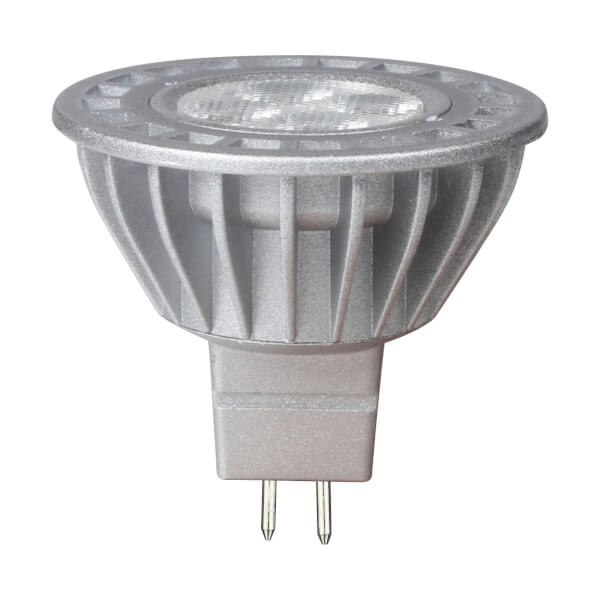 LED Silver MR16 3W Light Bulb