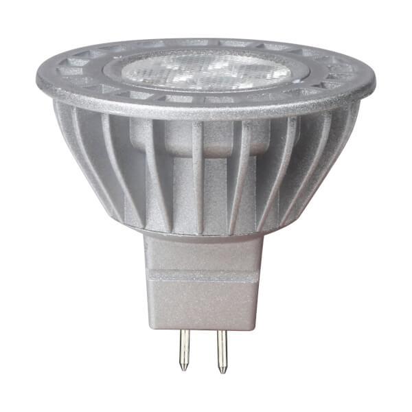 LED Silver MR16 5W Light Bulb