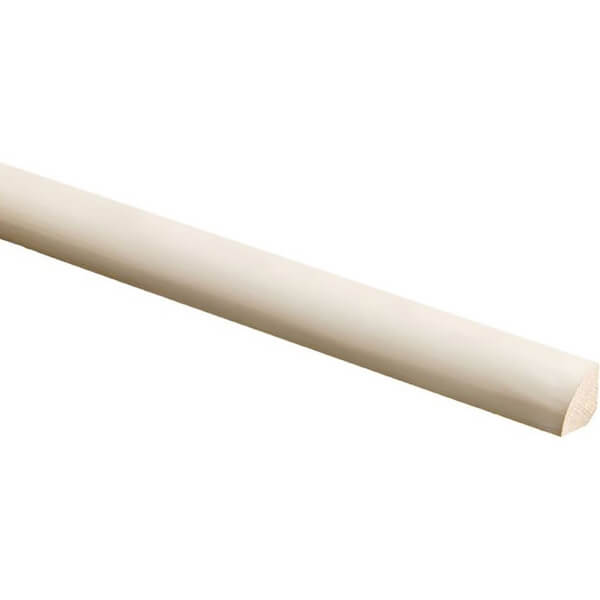 Richard Burbidge Primed Quadrant Moulding - Pine - 2400 x 21 x 21mm
