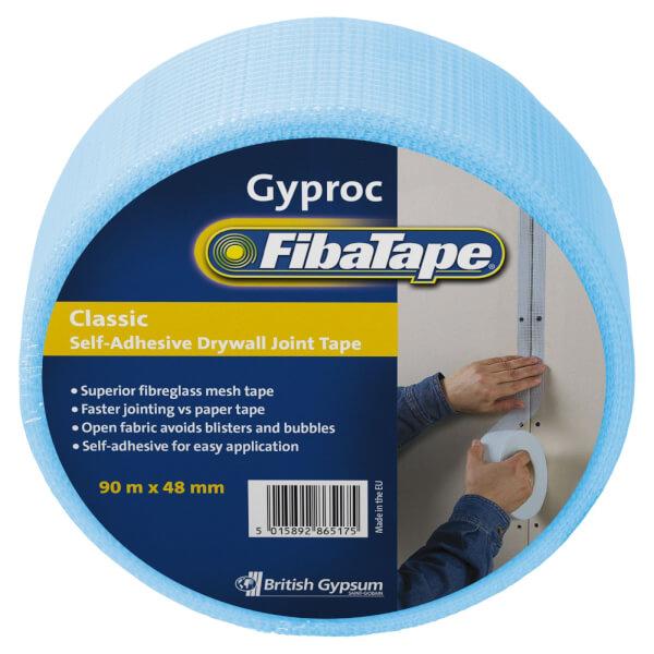 Gyproc Fibatape Classic Drywall Tape - 90m x 48mm