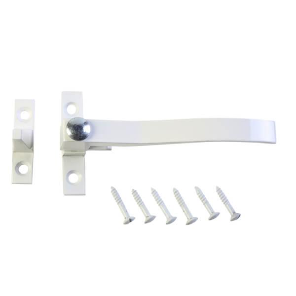 Window Casement Fastener - White
