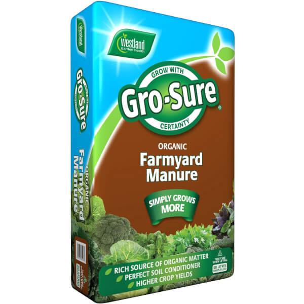 Gro-Sure Farm Yard Manure - 50L