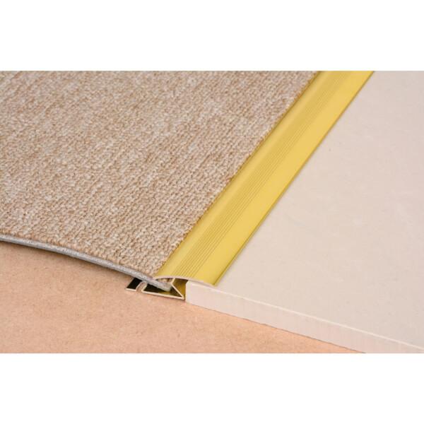 Vitrex Cover Strip - Carpet to Ceramic - Gold - 0.9m