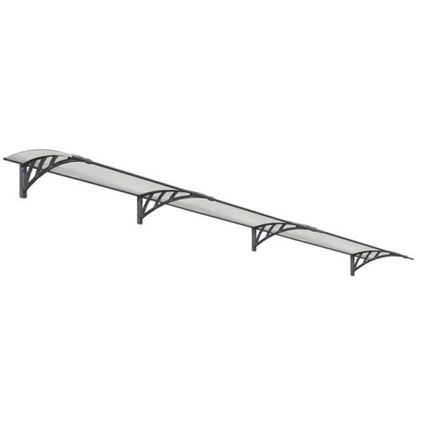 Palram Neo 4050 Canopy - Grey Twinwall