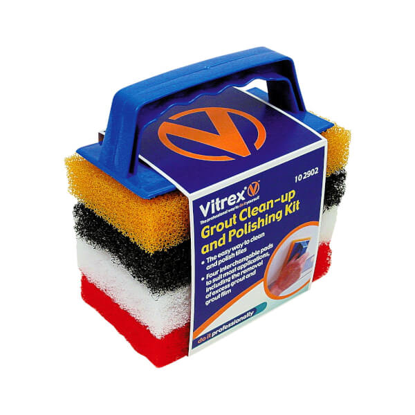 Vitrex Grout Clean-Up And Polishing Kit