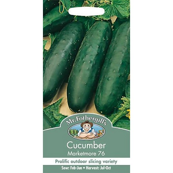 Mr. Fothergill's Cucumber Marketmore 76 (Cucumis Sativus) Seeds