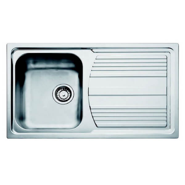 Carron Phoenix Logica Reversible Kitchen Sink - 1 Bowl