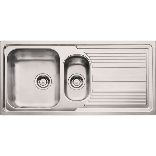 Carron Phoenix Logica Reversible Kitchen Sink - 1.5 Bowl