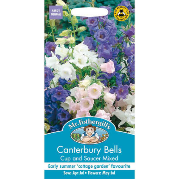 Mr. Fothergill's Canterbury Bells Cup & Saucer Mixed Seeds