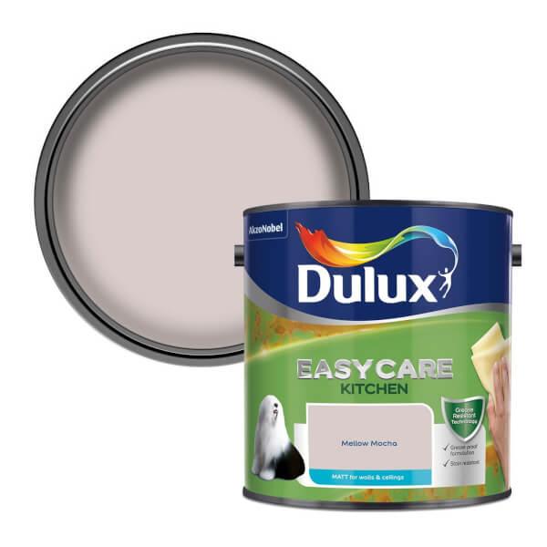 Dulux Easycare Kitchen Mellow Mocha - Matt Emulsion Paint - 2.5L