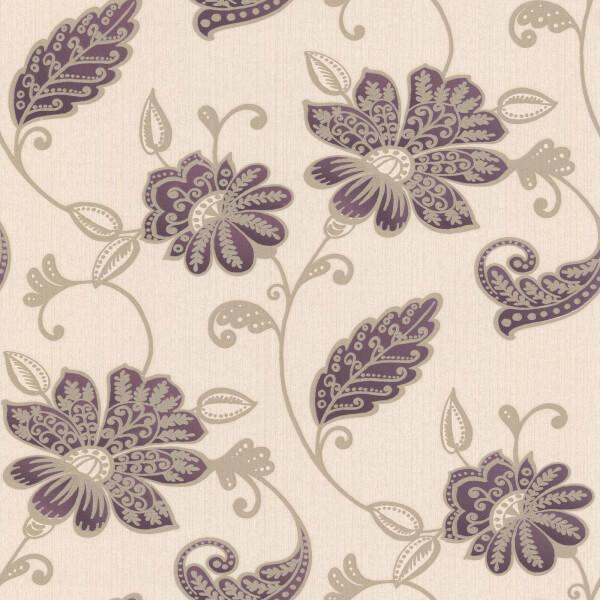 Boutique HWV Juliet Plum Wallpaper