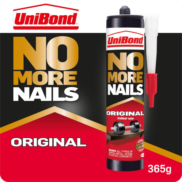 UniBond No More Nails Grab Adhesive Cartridge Original 365g