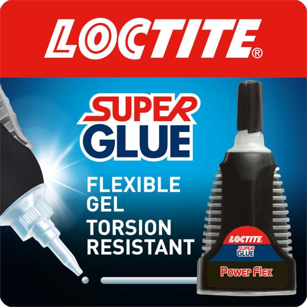 Loctite Super Glue Power Flex Control - Translucent - 3g