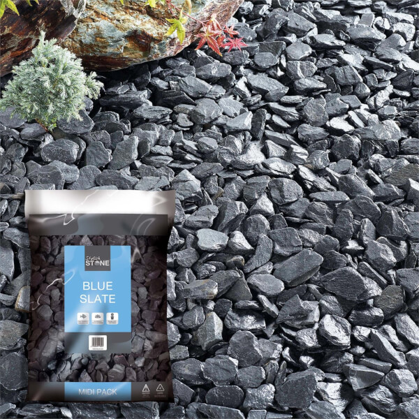 Stylish Stone Blue Slate - Midi Pack - 9kg