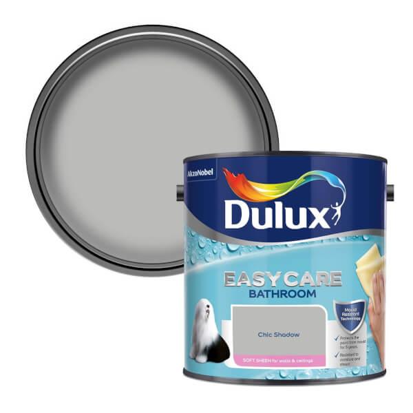 Dulux Easycare Bathroom Chic Shadow - Soft Sheen Emulsion Paint - 2.5L