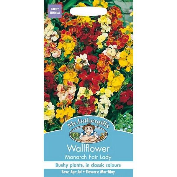 Mr. Fothergill's Wallflower Monarch Fair Lady Seeds