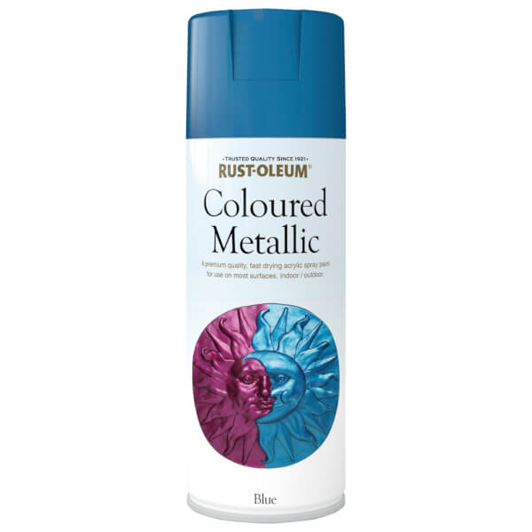 Rust-Oleum Blue Metallic - Spray - 400ml