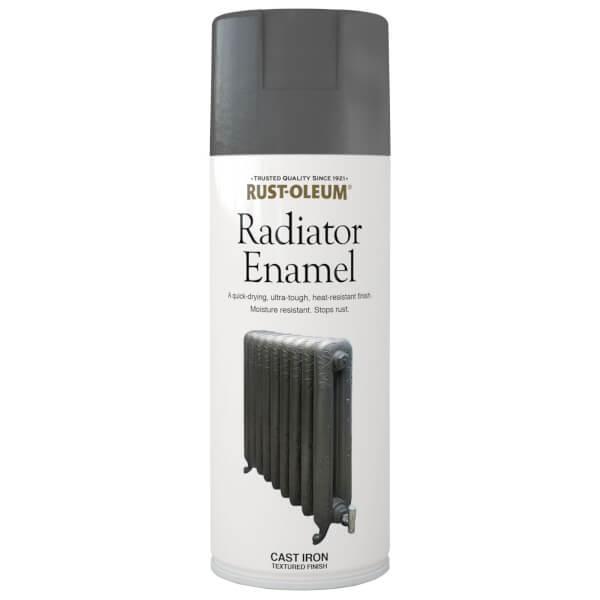 Rust-Oleum Radiator Paint Cast Iron - Spray - 400ml