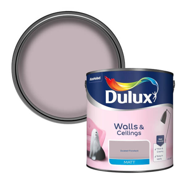 Dulux Dusted Fondant - Matt Emulsion Paint - 2.5L