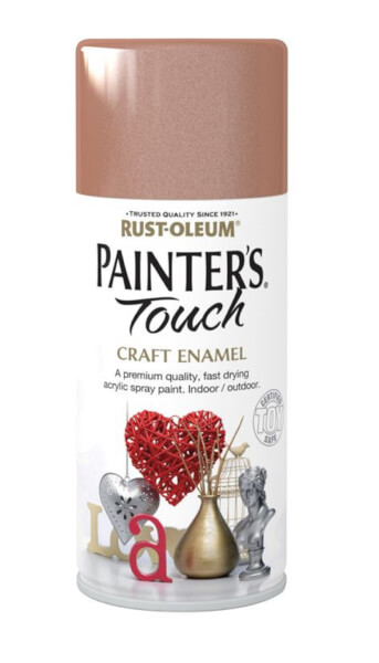Rust-Oleum Painters Touch - Craft Enamel Spray Paint Copper Metallic - 150ml