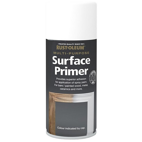 Rust-Oleum Painters Touch - Craft Enamel Spray Paint Primer Off White - 150ml