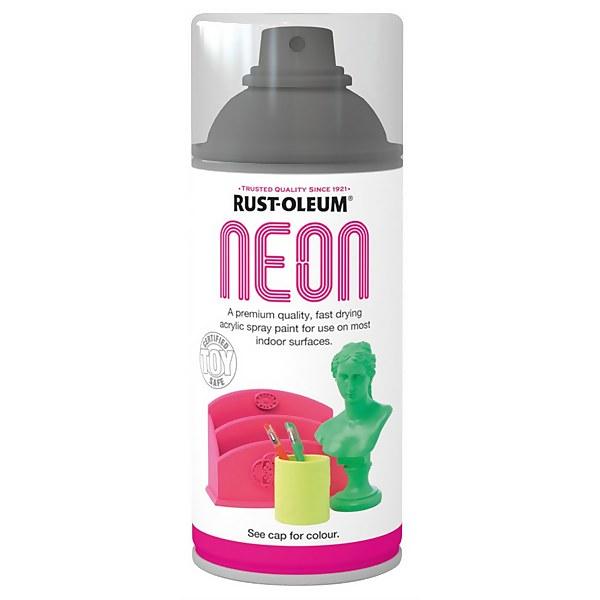 Rust-Oleum - Neon Paint Yellow - Spray - 150ml