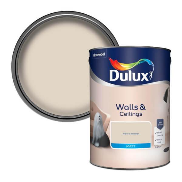 Dulux Natural Hessian - Matt Emulsion Paint - 5L
