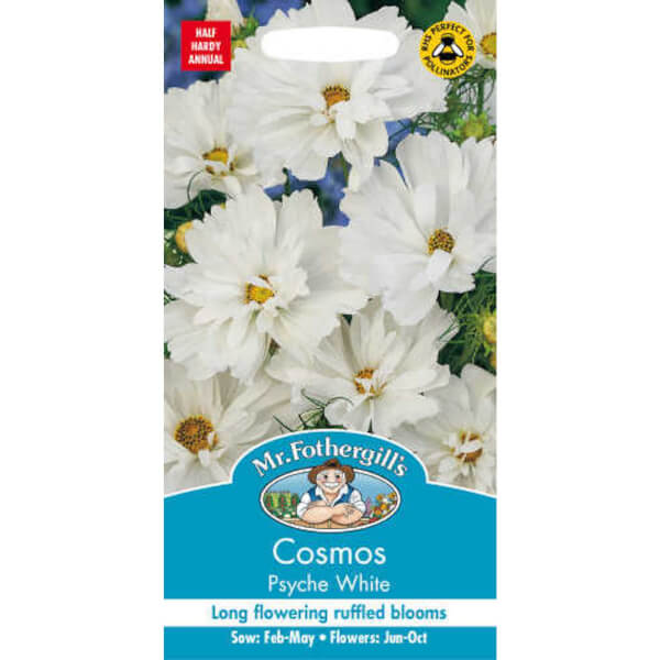 Mr. Fothergill's Cosmos Psyche White Seeds