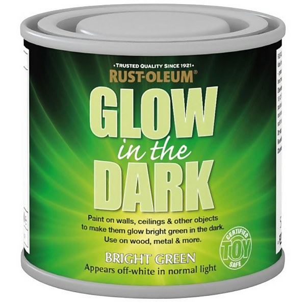 Rust-Oleum Glow in the Dark Paint - 125ml