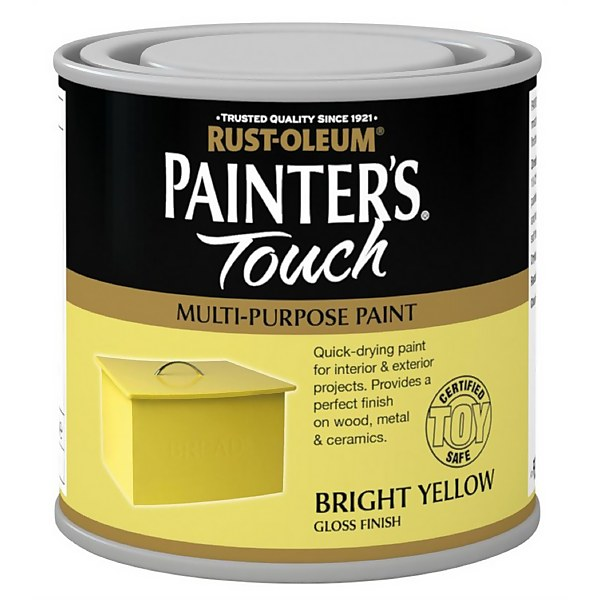 Rust-Oleum Painters Touch Bright Yellow Gloss - 250ml