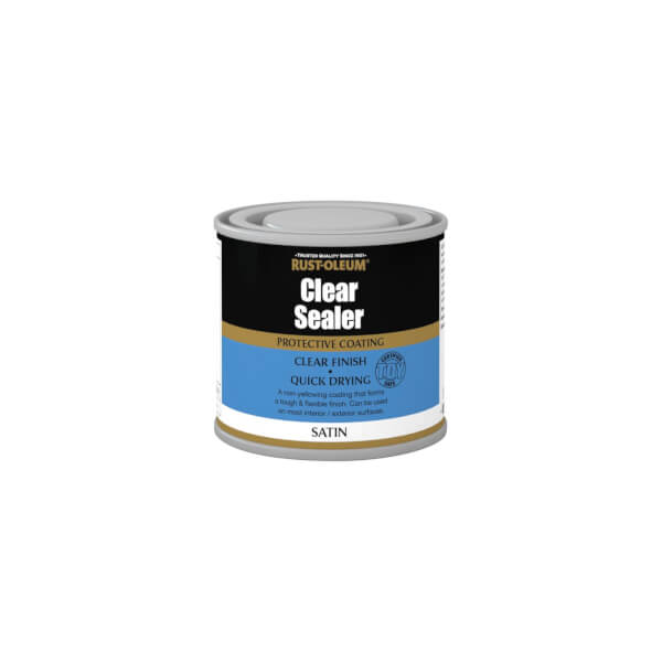 Rust-Oleum Clear Satin Sealer - 125ml
