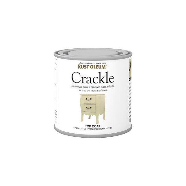 Rust-Oleum Crackle Topcoat - 250ml