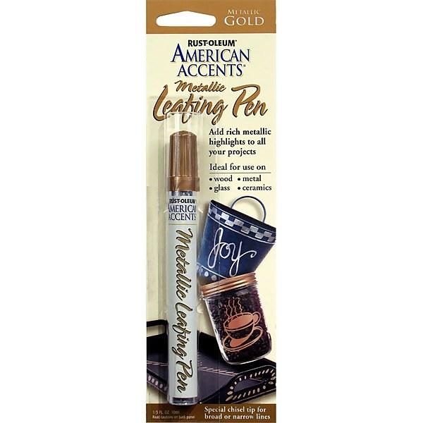 Rust-Oleum Metallic Leafing Paint Pen - Gold