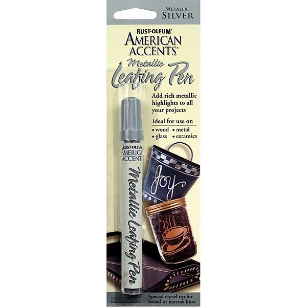 Rust-Oleum Metallic Leafing Paint Pen - Silver