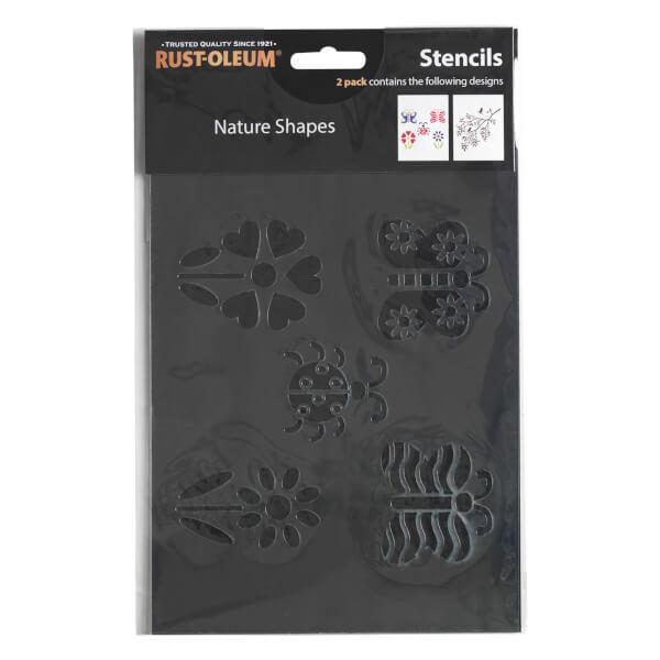Rust-Oleum Stencil Nature Shapes