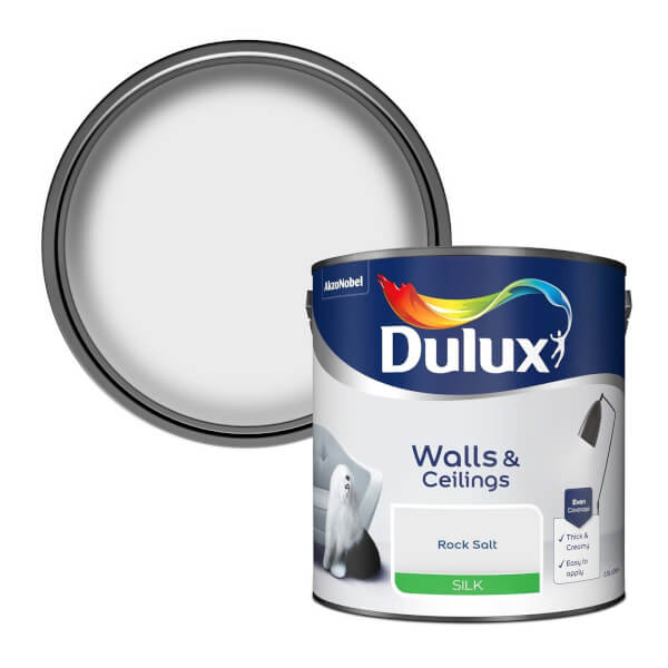 Dulux Silk Rock Salt Silk Emulsion Paint - 2.5L