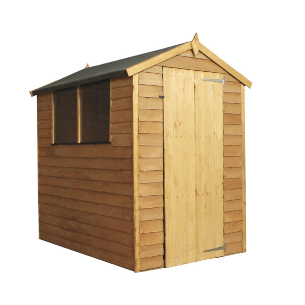 Mercia 6x4ft Overlap Apex Shed