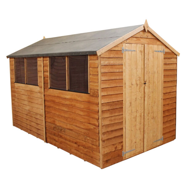 Mercia 10x8ft Overlap Apex Shed