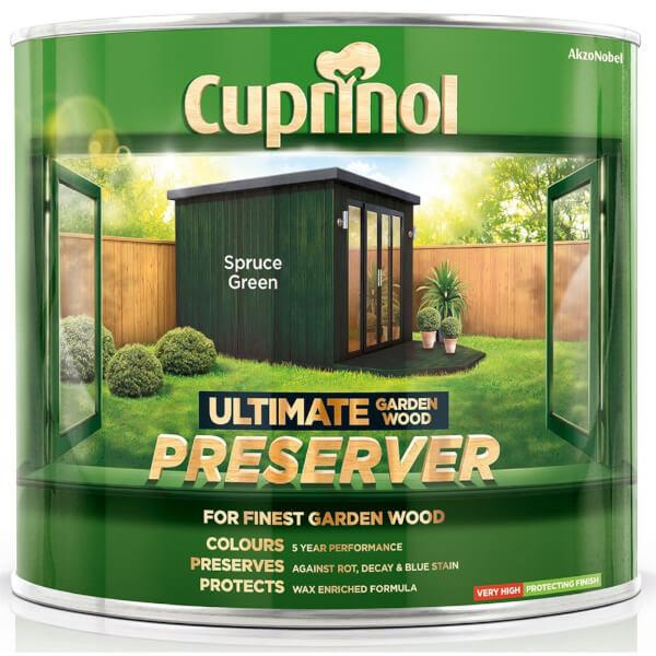 Cuprinol Ultimate Preserver - Spruce Green - 1L